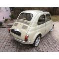 Fiat 500 hinten rechts